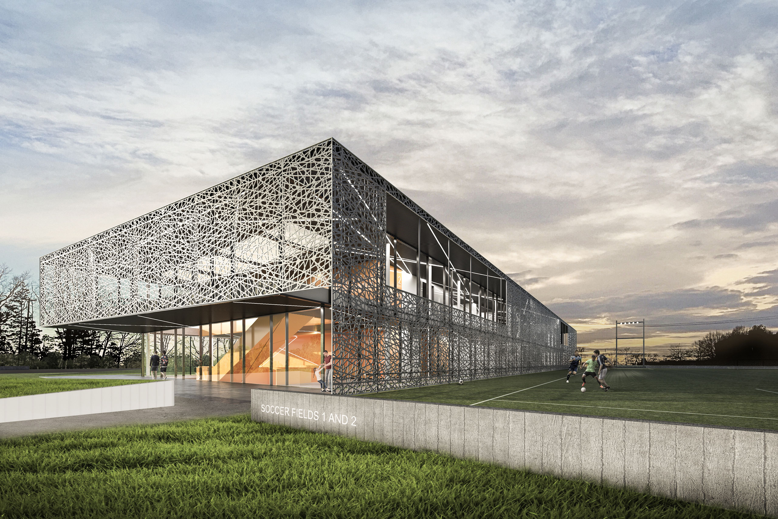 Capital City Sportsplex wins 2020 AIA South Atlantic Region Merit Design Award