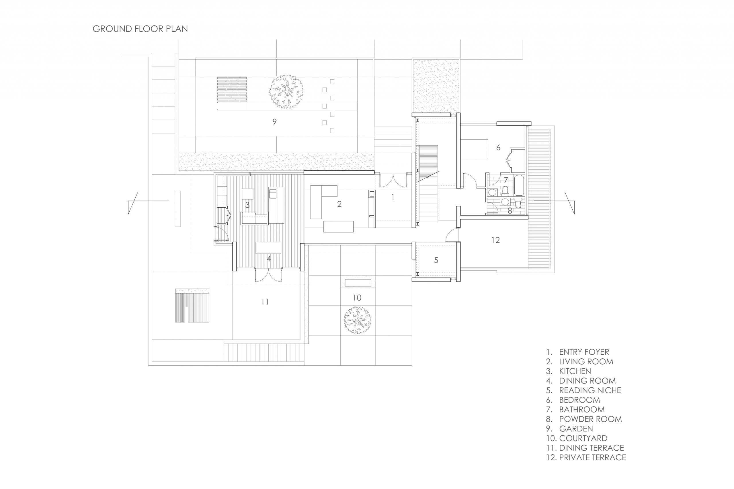 Oak Forest Drive Residence 008