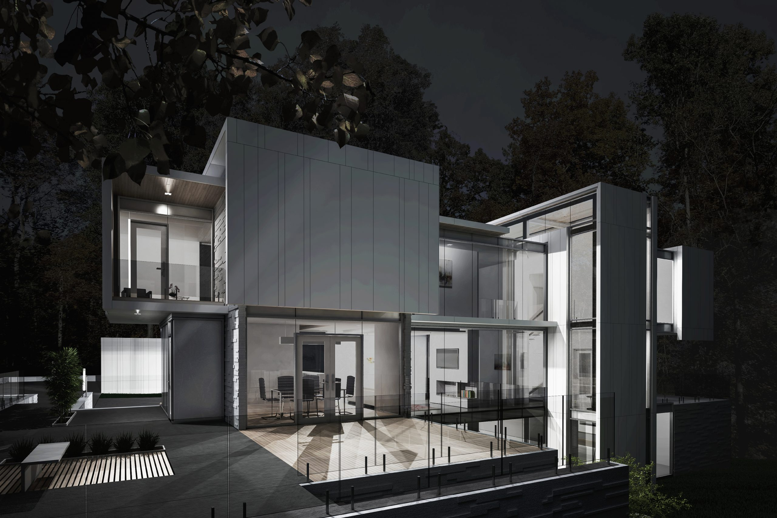 Oak Forest Drive Residence 015