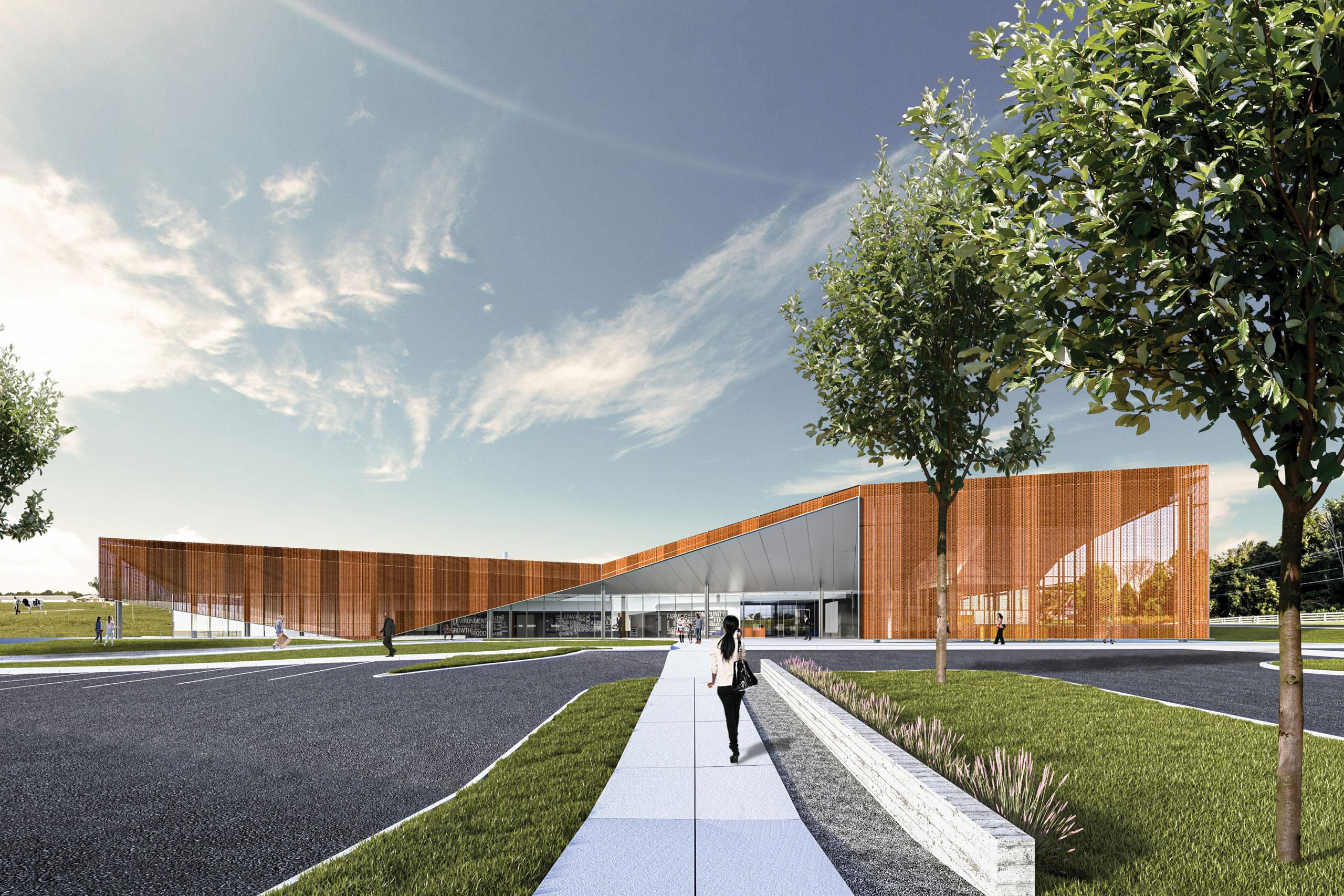 NC A&T Community and Urban Food Processing Facility wins 2021 AIA Triangle Merit Design Award